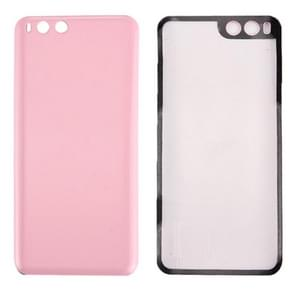 iPartsBuy Xiaomi Mi 6 Smooth Surface Battery Back Cover(Pink)