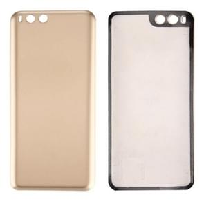 iPartsBuy Xiaomi Mi 6 Smooth Surface Battery Back Cover(Gold)