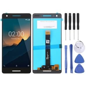 LCD Screen and Digitizer Full Assembly for Nokia 2.1(Black)
