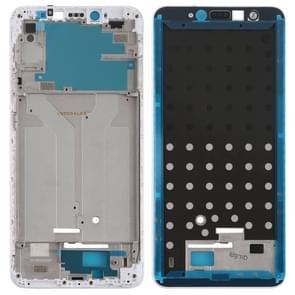 Front behuizing LCD-frame bezel voor Xiaomi Redmi S2 (wit)
