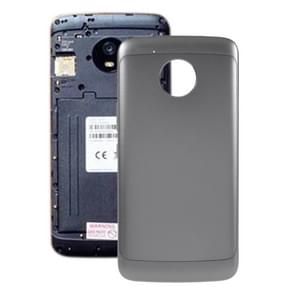 Battery Back Cover for Motorola Moto E4 Plus (US Version)(Grey)