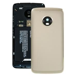 Battery Back Cover for Motorola Moto G5 Plus (Gold)