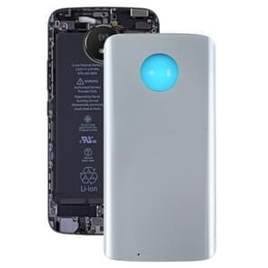 Batterij Back Cover voor Motorola Moto G6 (Zilver)