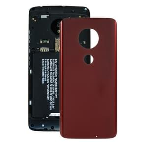 Battery Back Cover for Motorola Moto G7 Plus(Red)
