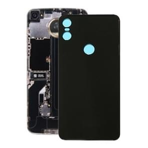 Battery Back Cover for Motorola One (P30 Play) (Black)