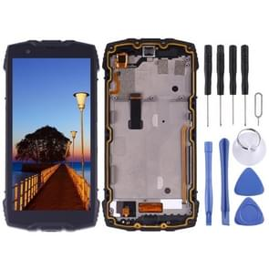 LCD Screen and Digitizer Full Assembly for Blackview BV6800 Pro(Black)