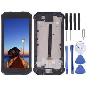 LCD Screen and Digitizer Full Assembly for Blackview BV9500 (Black)