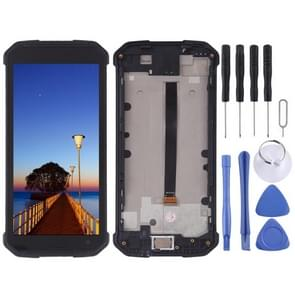 LCD Screen and Digitizer Full Assembly for Blackview BV9500 Pro(Black)