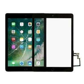 Touch Panel with Home Key Flex Cable for iPad 5 9.7 inch 2017 A1822 A1823(Black)