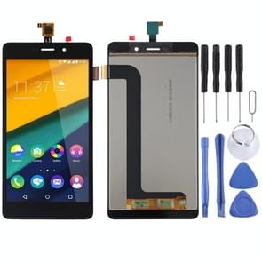 LCD Screen and Digitizer Full Assembly for Wiko Pulp Fab 4G(Black)