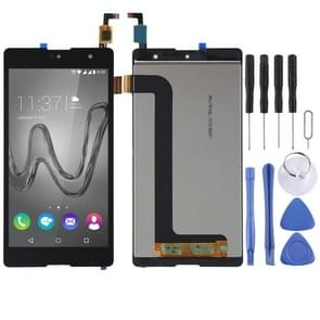 LCD Screen and Digitizer Full Assembly for Wiko Robby(Black)