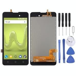 LCD Screen and Digitizer Full Assembly for Wiko Sunny 2 Plus(Black)