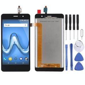 LCD Screen and Digitizer Full Assembly for Wiko Tommy 2(Black)