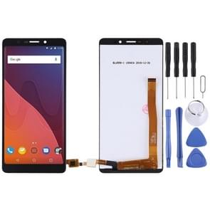 LCD Screen and Digitizer Full Assembly for Wiko View Lite(Black)