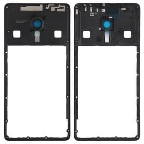 Middle Frame Bezel with Camera Lens for Lenovo ZUK Z2 Pro(Black)