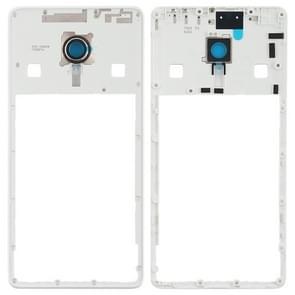 Middle Frame Bezel with Camera Lens for Lenovo ZUK Z2 Pro(White)