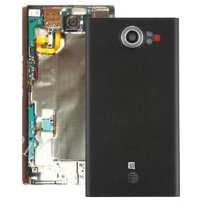 Achterste schutblad met cameralens voor Blackberry Priv (Amerikaanse Version)(Black)