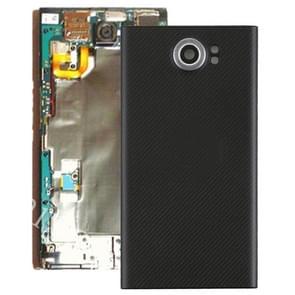 Achterste schutblad met cameralens voor Blackberry Priv (EU Version)(Black)
