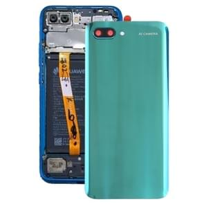 Battery Back Cover with Camera Lens for Huawei Honor 10(Green)