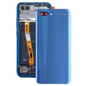 Battery Back Cover with Camera Lens for Huawei Honor 10(Blue)