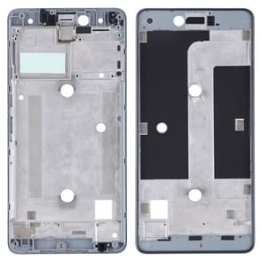Front Housing LCD Frame Bezel Plate for BQ Aquaris U Lite(Black)
