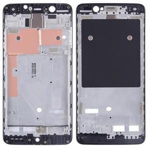 Front Housing LCD Frame Bezel Plate for BQ Aquaris U2 Lite(Black)