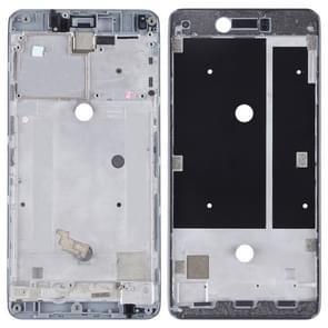 Front Housing LCD Frame Bezel Plate for BQ Aquaris U Plus(Black)