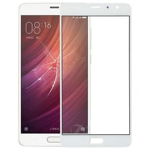 Front Screen Outer Glass Lens for Xiaomi Redmi Pro(White)