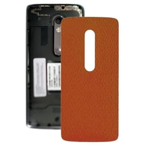 Battery Back Cover for Motorola Moto X Play XT1561 XT1562(Orange)