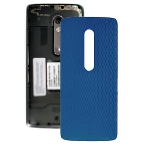 Battery Back Cover for Motorola Moto X Play XT1561 XT1562(Blue)