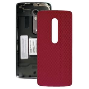 Battery Back Cover for Motorola Moto X Play XT1561 XT1562(Red)