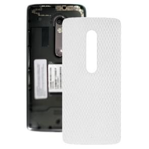 Battery Back Cover for Motorola Moto X Play XT1561 XT1562(White)