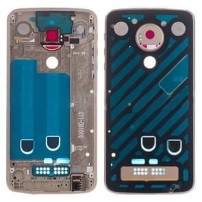 Middle Frame Bezel Plate for Motorola Moto Z Play XT1635(Gold)