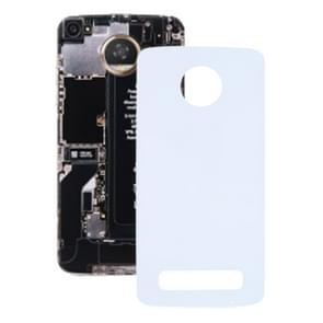 Battery Back Cover for Motorola Moto Z(White)