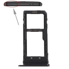 SIM Card Tray + SIM Card Tray / Micro SD Card Tray for HTC U11+ (Black)
