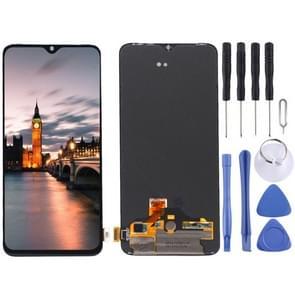 AMOLED-materiaal LCD-scherm en digitizer volledige montage voor OnePlus 7 (zwart)