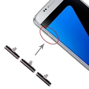 10 set kant toetsen voor Galaxy S7 (zwart)