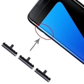 10 set kant toetsen voor Galaxy S7 Edge (blauw)