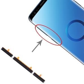 10 set kant toetsen voor Galaxy S9/Galaxy S9 + (zwart)