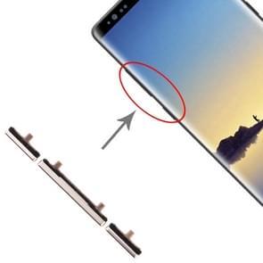 10 Zijtoetsen instellen voor Galaxy Note 8 (Goud)