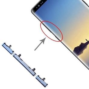 10 Zijtoetsen instellen voor Galaxy Note 8 (Blauw)