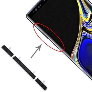 10 set Zijkleutels voor Galaxy Note 9 (zwart)