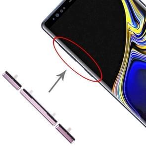 10 Zijtoetsen instellen voor Galaxy Note 9 (Paars)