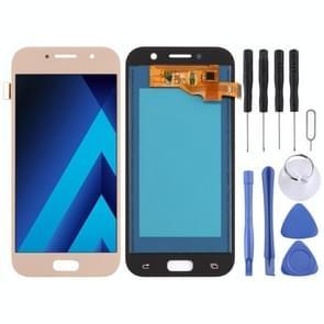LCD het scherm en digitizer volledige assemblage (TFT materiaal) voor Melkweg A5 (2017), A520F, A520F/DS, A520K, A520L, A520S (goud)
