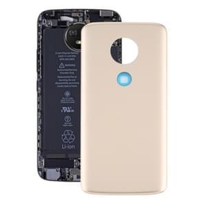Batterij Back Cover voor Motorola Moto E5 (Goud)