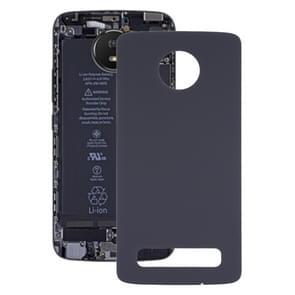 Batterij Back Cover voor Motorola Moto Z4 (Zwart)