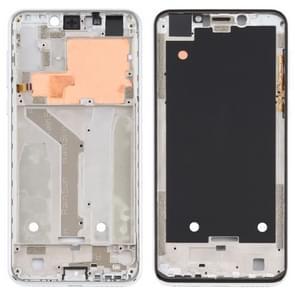 Front Housing LCD Frame Bezel Plate voor Motorola Moto One (P30 Play) (Zilver)