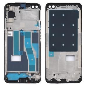 Front Housing LCD Frame Bezel Plate voor OPPO Realme 6 Pro (Zwart)