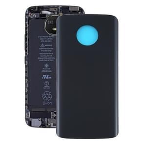 Batterij achterkant voor Motorola Moto G6 Plus (Zwart)