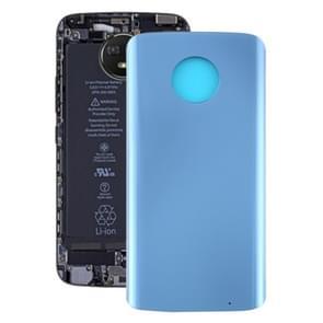 Batterij achterkant voor Motorola Moto G6 Plus (Blauw)